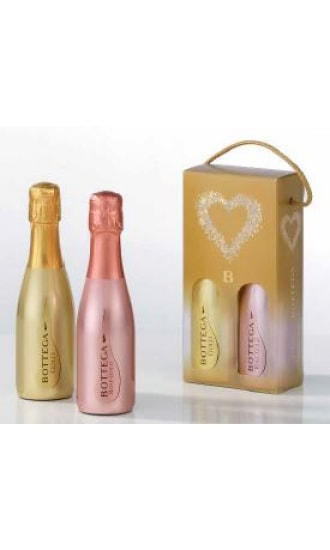 Bottega Box For 2 Small Bottles 20Cl (With Lanyard Handle)