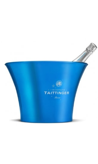 Taittinger Blue Metallic Ice Bucket 4 btls