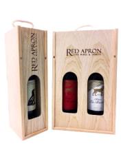 Slide lid wooden box 1 btl luxury