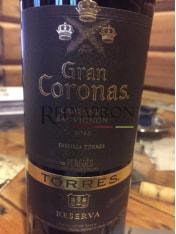 Torres, Gran Coronas, Penedes DO